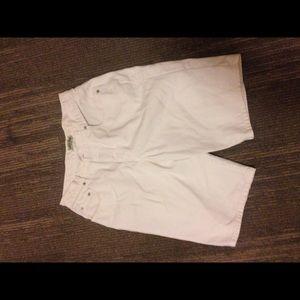 Vintage guess men's Denim shorts white size 34